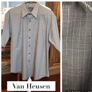 Van Heusen short sleeve shirt large